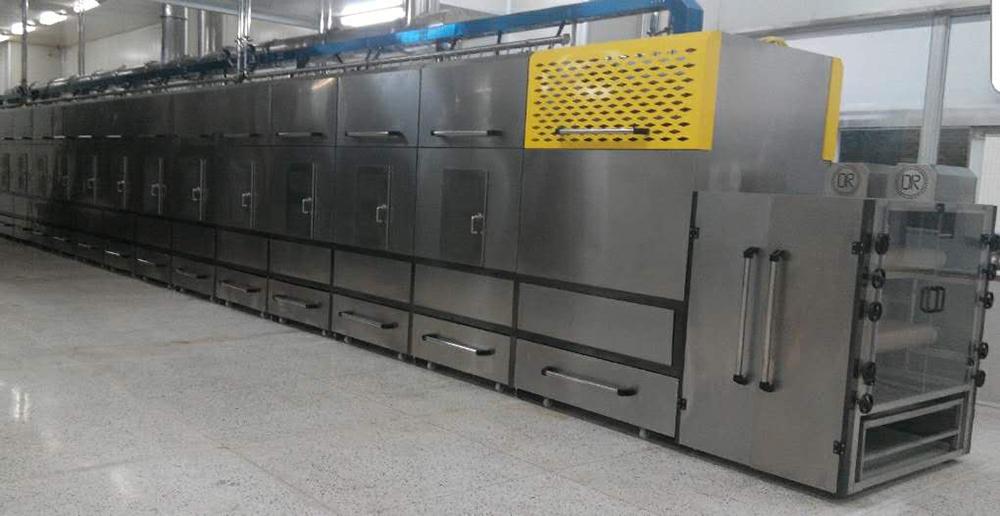 隧道式多层微波干燥机
